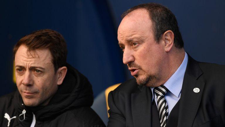 Бенитес коментира слуховете за Арсенал