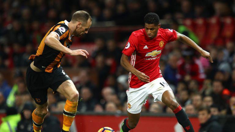 Рашфорд няма проблеми с Юнайтед, твърди Mirror