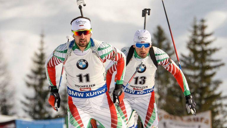 България стартира с четирима биатлонисти на 20 км на СП в Хохфилцен
