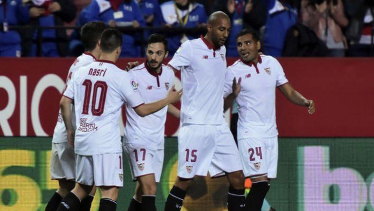 Очаквана победа върна Севиля на второто място (видео)