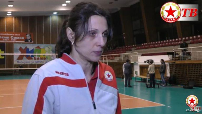 Юлия Иванова: Съдиите да ни разяснят кое е носена топка и кое - не