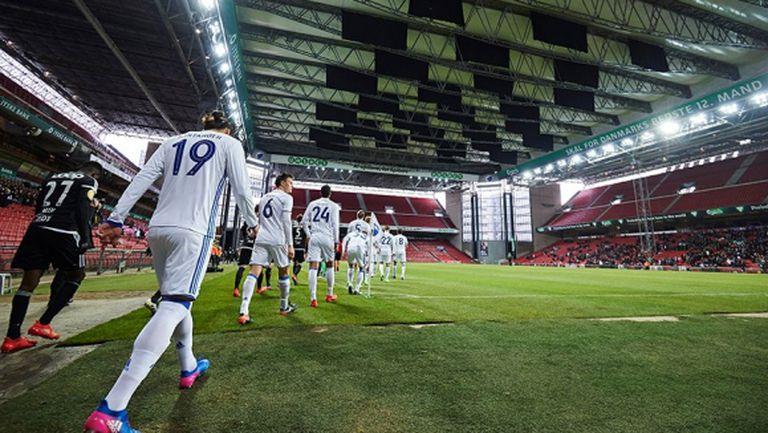 Копенхаген може да играе срещу Лудогорец със спуснат покрив на стадиона