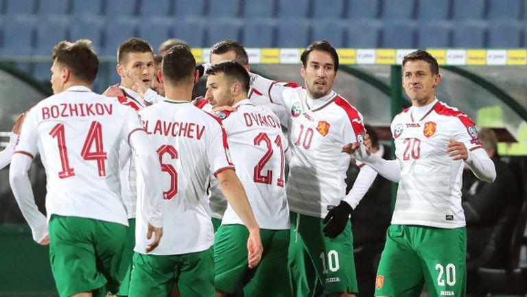 Програмата на националните отбори на България за март