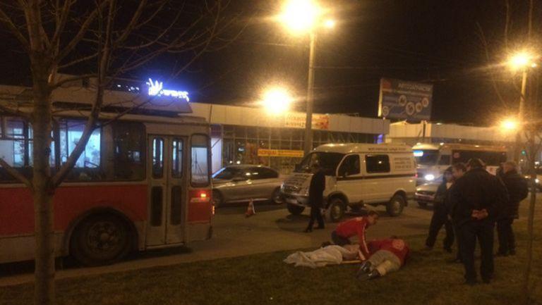 Тролейбус прегази фен на Спартак Москва