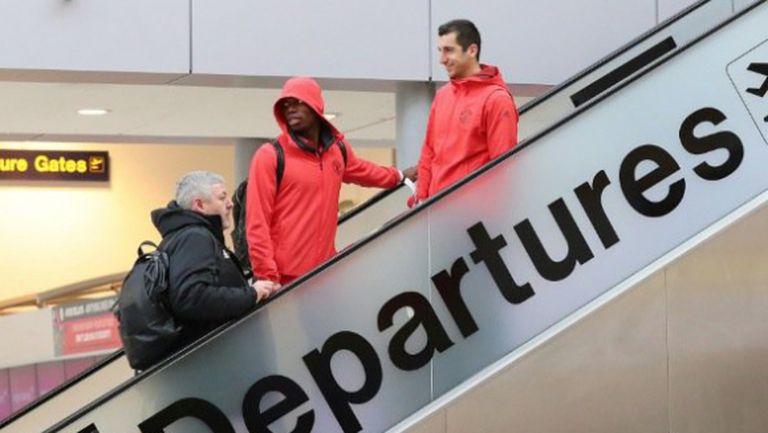 Юнайтед без Рууни и Шоу, но с Мхитарян за гостуването в Русия