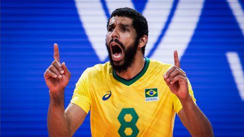Олимпийският шампион срази световния първенец и оглави класирането в Лигата на нациите 🇧🇷🇵🇱🏐