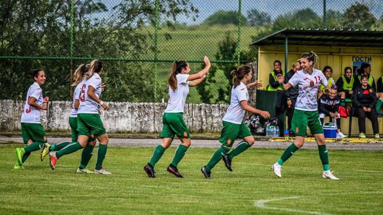Футболните ни националки до 19 години надвиха Албания