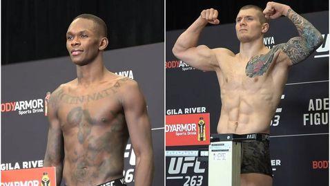 Ветори малко по-тежък от Адесаня преди UFC 263