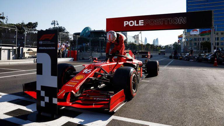 Полпозишъните в Монако и Баку не са представителни за действителното темпо на Ферари