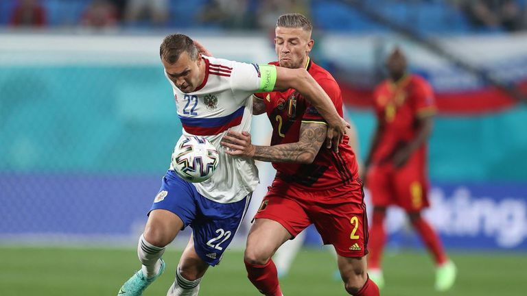 С лекота Белгия надигра Русия с 3:0