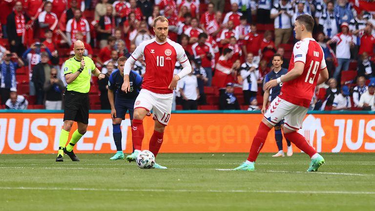 Кристиан Ериксен беше избран за Играч на мача