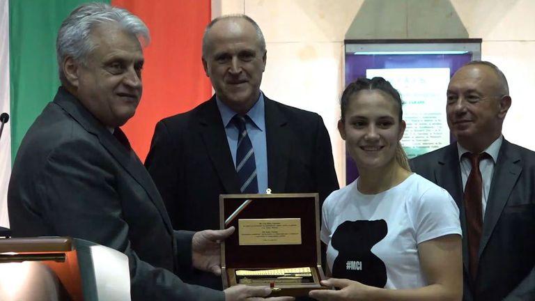 МВР награди олимпийските призьори