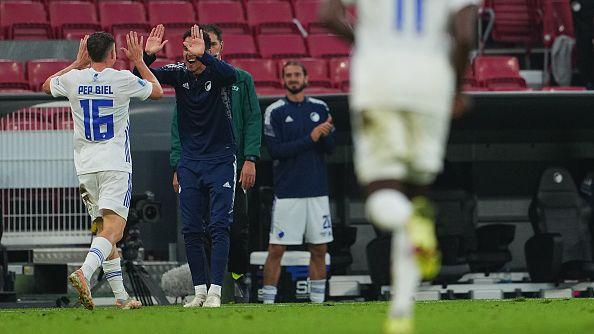 Биел направи резултата 3:1 за Копенхаген срещу Локомотив (Пловдив)