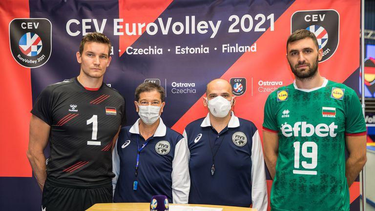 1/8-финал на Евроволей 2021: България - Германия 1:3