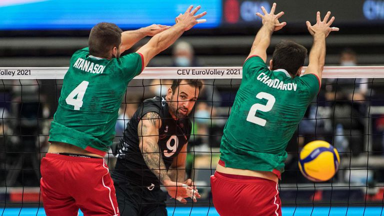 Германия спря България на 1/8-финал на Евроволей 2021