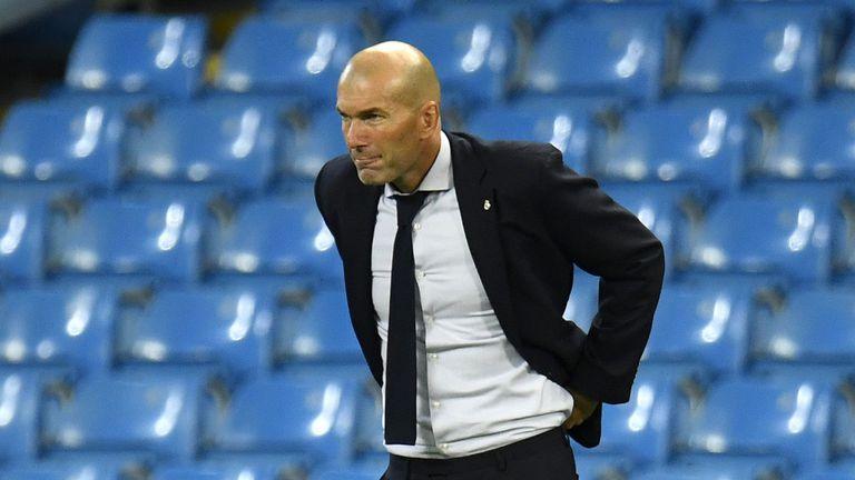Зидан нападна ръководството на Реал