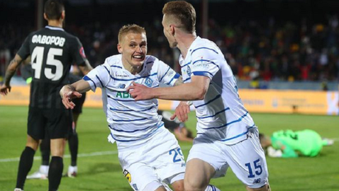 Динамо Киев направи дубъл в Украйна