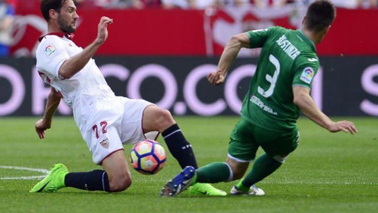 """Леганес изпусна победата на """"Санчес Писхуан"""", Севиля мислеше за Лестър (видео)"""