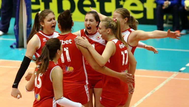 Волейболистките на ЦСКА взеха реванш от Левски (видео + галерия)