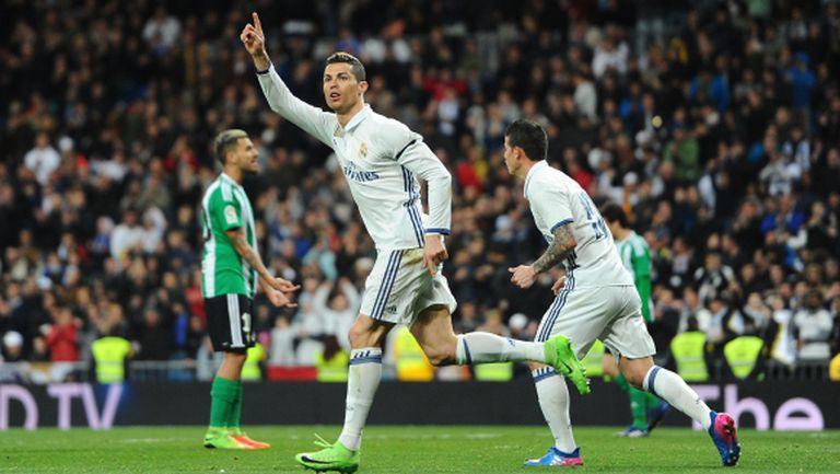 Рамос пак го направи! Реал Мадрид си върна върха в Ла Лига (видео+галерия)