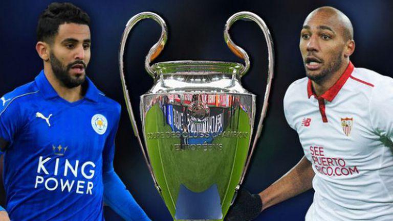 Колко отбора от Англия ще играят в ШЛ, ако Лестър и Ман Юнайтед спечелят евротурнирите?
