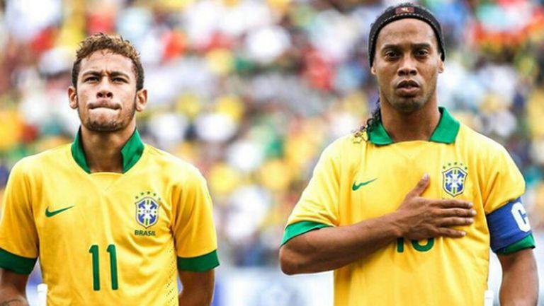 """Роналдиньо: Въпрос на време е Неймар да спечели """"Златната топка"""""""