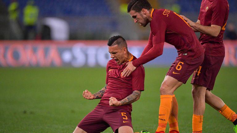Рома не сгреши срещу Сасуоло в атрактивен мач (видео)