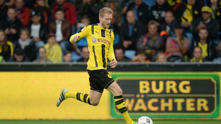 Дортмунд загуби Шюрле за дербито с Шалке