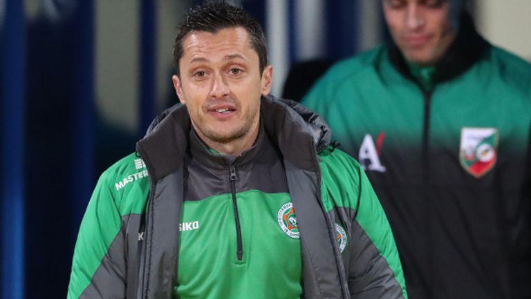 Янев: Надявам се на по-голяма сигурност в клуба