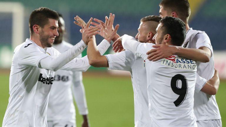 Групата на Славия за мача с Дунав (Русе)