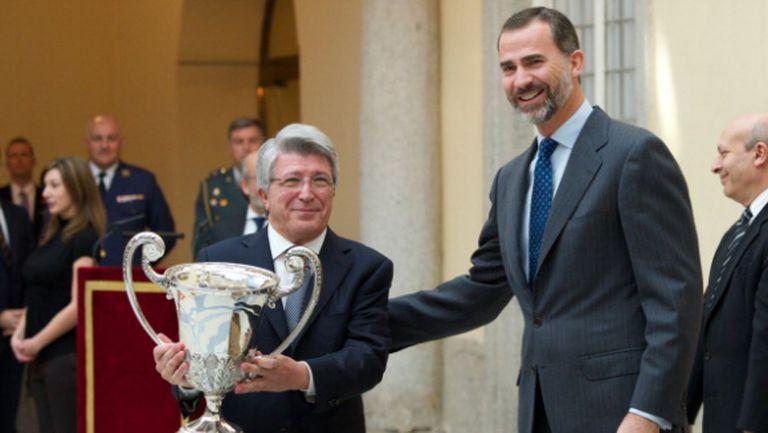 Президентът на Атлетико: Любо Пенев имаше голмайсторски ген