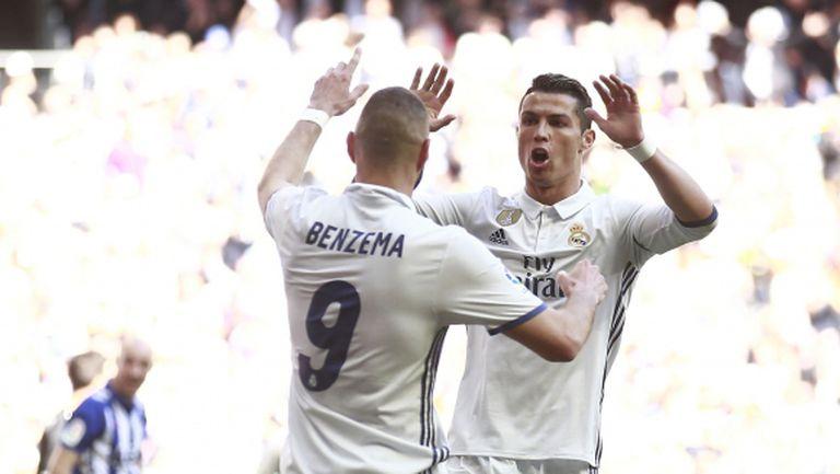 Реал Мадрид се изпоти, но спечели класически (видео + галерия)