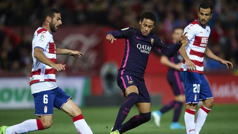Неймар стана третия бразилец със 100 гола за Барселона