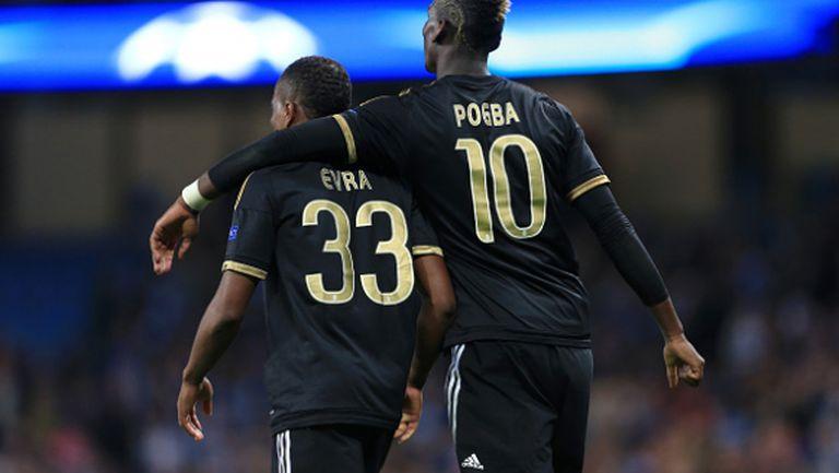 Евра: Аз убедих Погба да отиде в Юнайтед