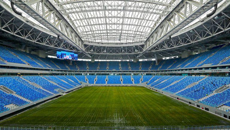 Зенит ще играе на новия си стадион още през този сезон