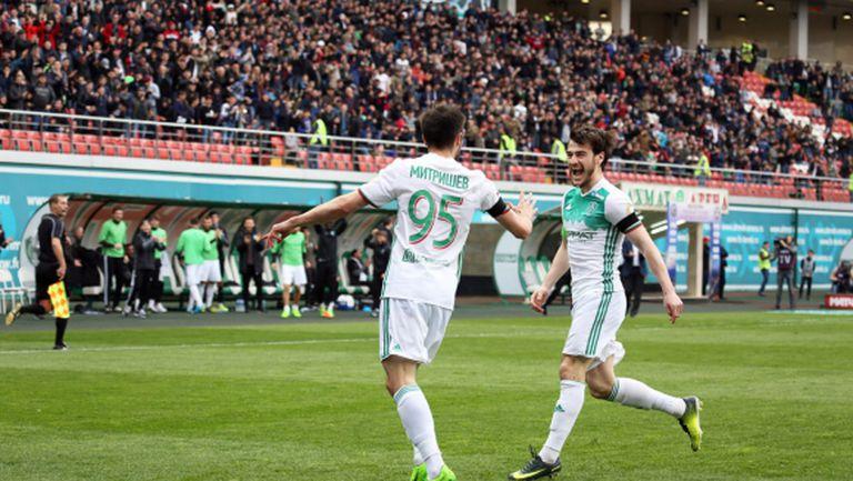 Иванов и Александров не помогнаха на Арсенал в Грозни (видео)