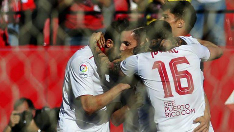Севиля се окопити в мач с шест гола