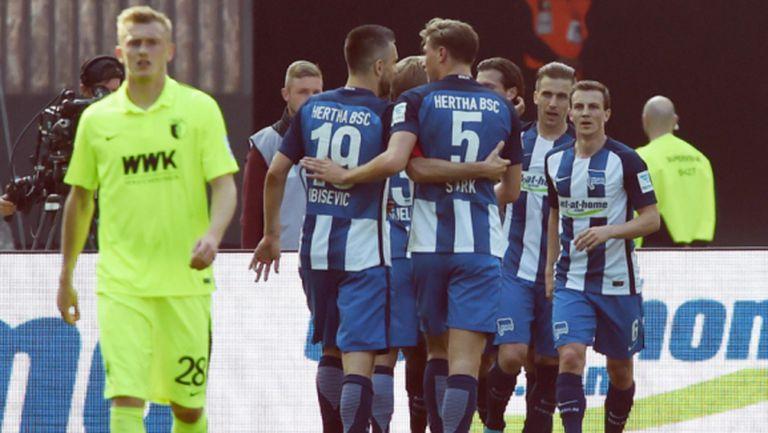 Херта отново е в позиция за Лига Европа (видео)