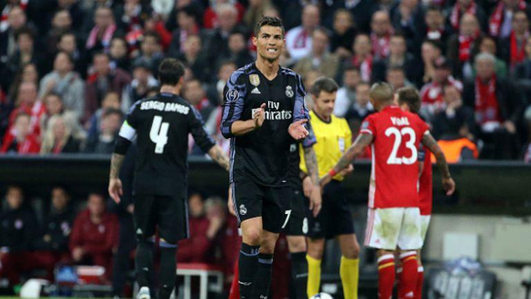 Роналдо: Да играеш срещу Байерн не е лесно