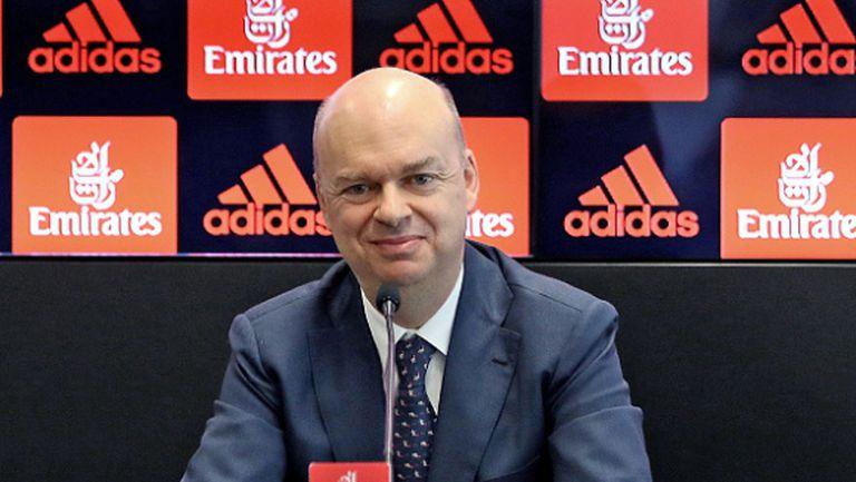 Новият изпълнителен директор на Милан увери: Нямаме никакви икономически проблеми