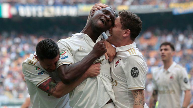 Милан съсипа Интер в последната секунда (видео+галерия)
