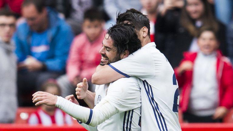 Магьосникът Иско спаси Реал Мадрид в 90-ата (видео + галерия)