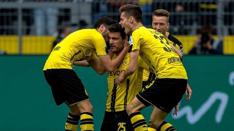 Страхотни голове в Дортмунд и радост за Борусия (видео)