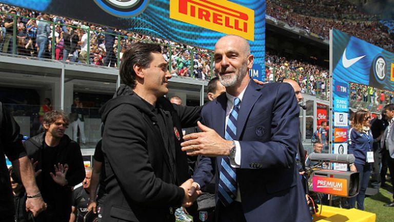 Пиоли потърси вината в своя Интер за равенството срещу Милан
