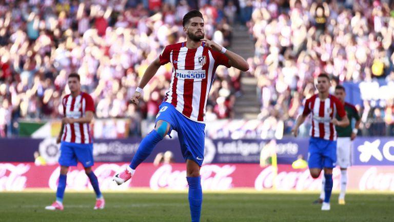Атлетико Мадрид записа категорична победа, а пропусна и две дузпи (видео)