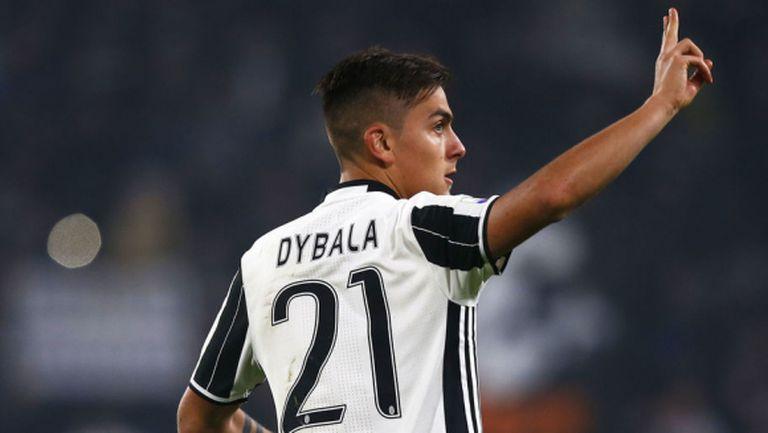 Спокойствие в Юве: Дибала ще играе срещу Барса
