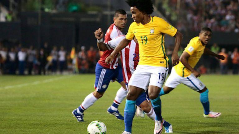 Парагвай - Бразилия 2:2