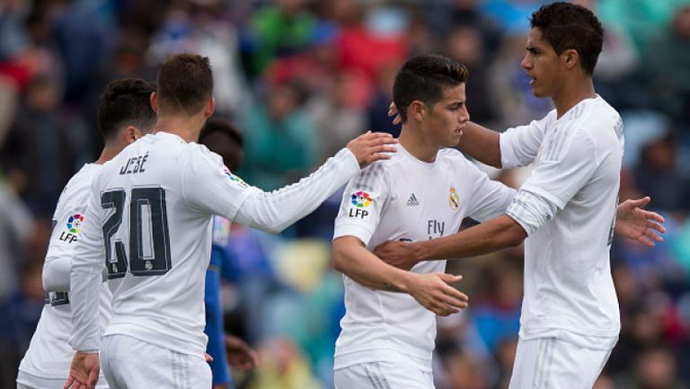 Хетафе - Реал (Мадрид) 1:5