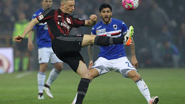 Сампдория - Милан 0:1