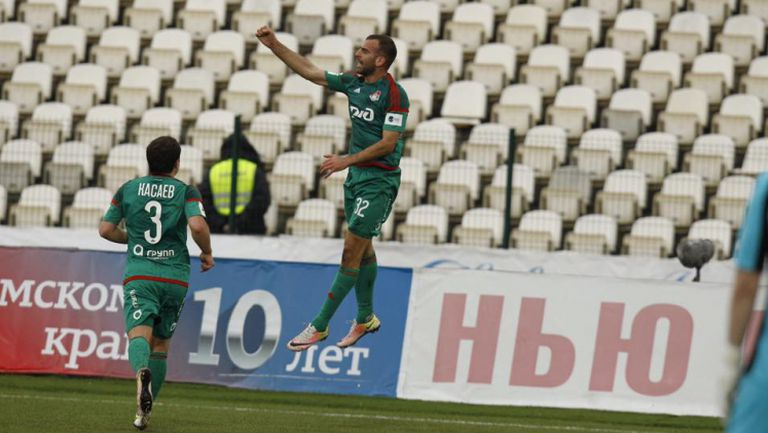 Амкар - Локомотив (Mосква) 0:1